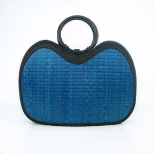 Royal Blue Basket of Cambodia Purse