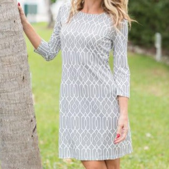 Silver Celtic Daphne Dress by Jean Pierre Klifa