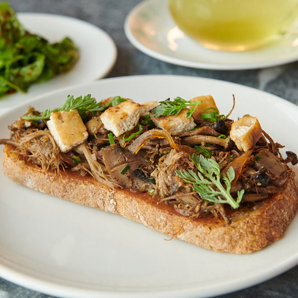 Vegan Mushroom On Toasted Sourdough (VG)