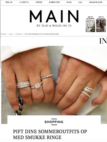 VERA VEGA Willow Double ring featured in IN Magazine