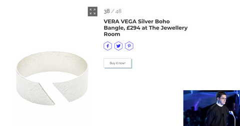 VERA VEGA Boho Bangle featured Marie Claire UK
