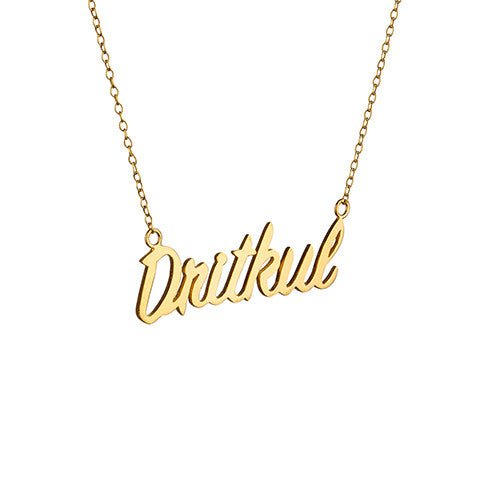 Dritkul Necklace - Silver/Gold