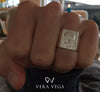 Phantom ring - Silver/Rhodium/Gold - VERA VEGA - 4