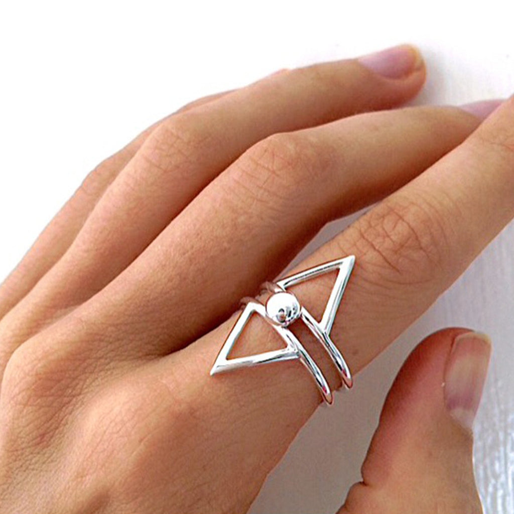 Rocket Willow ring - Silver/Gold - VERA VEGA - 1