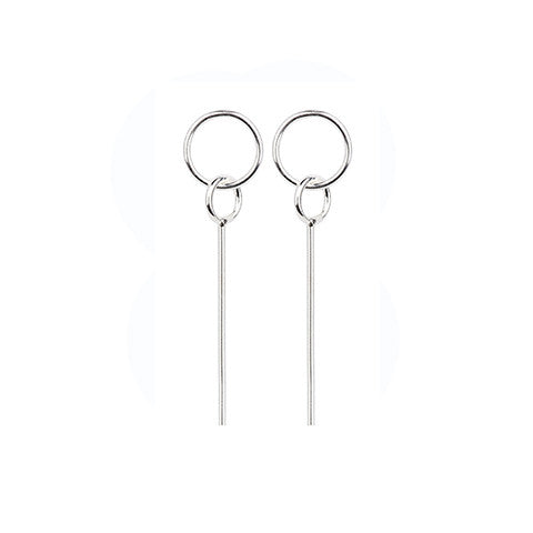 SEN Earrings - Silver/Gold (PAIR) - VERA VEGA - 1
