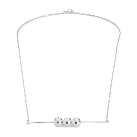 Pearl Avenue Necklace - Silver - VERA VEGA - 1