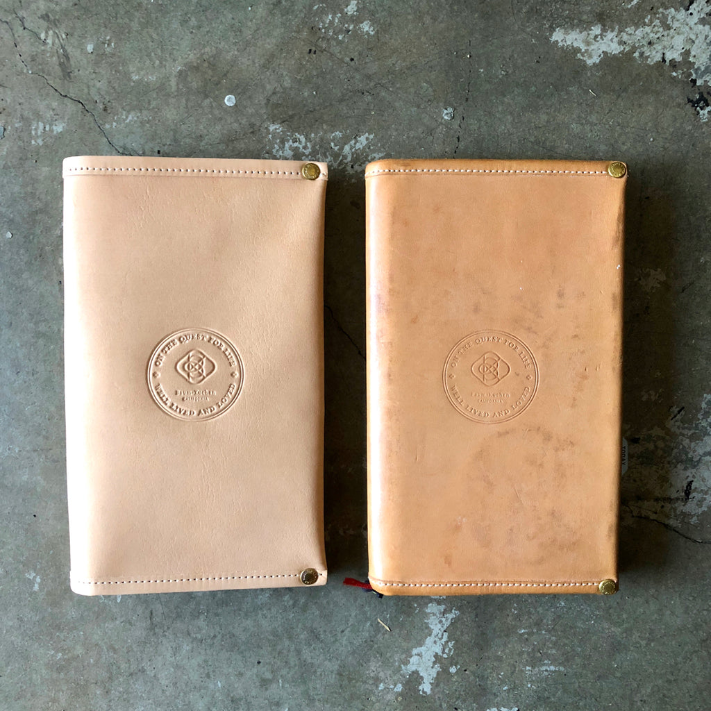 Metamorphosis: [TSLxBK] Notebook Cover  // New vs. 1 year old