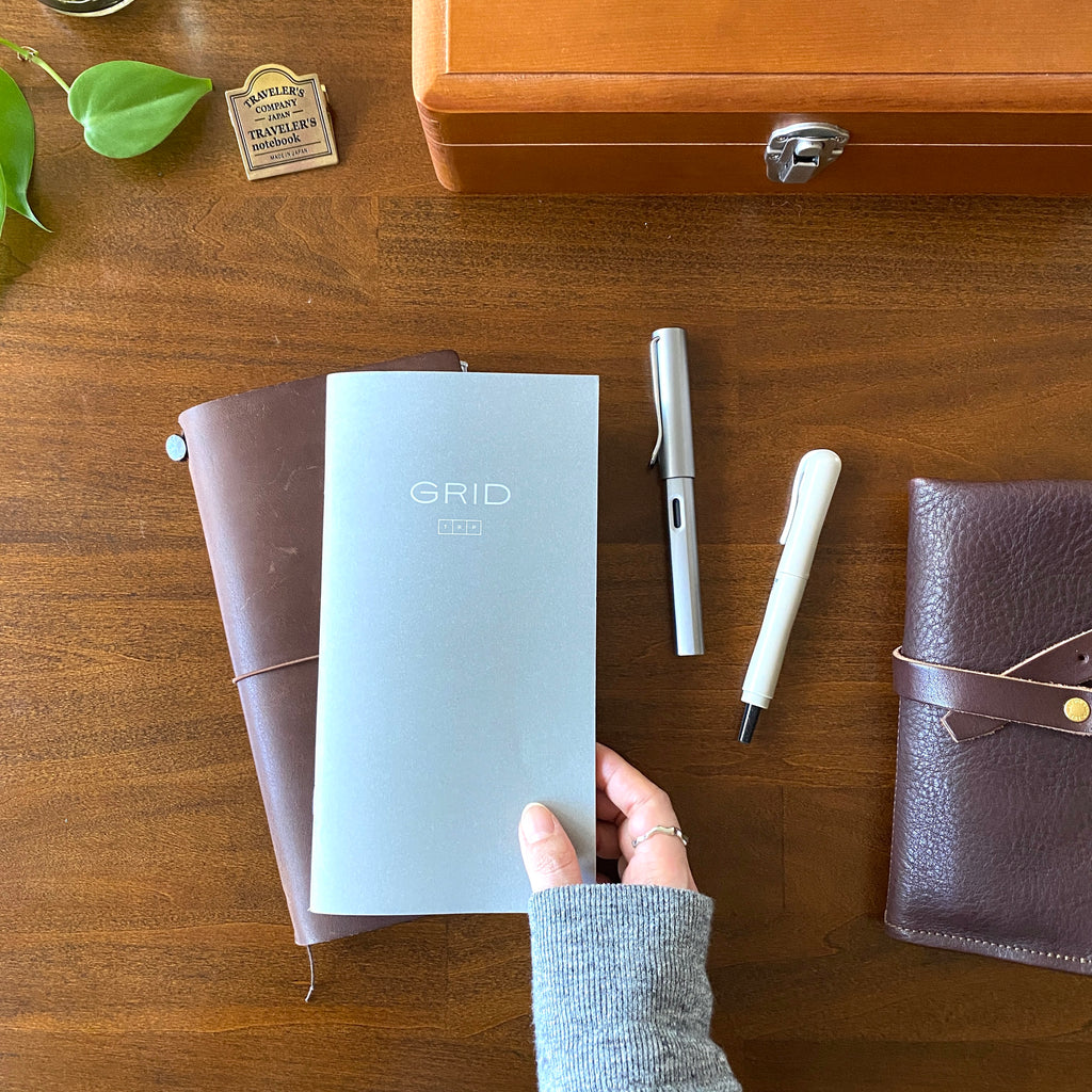 For the love of TRP | BK x TRC Grid Notebook by Eunice