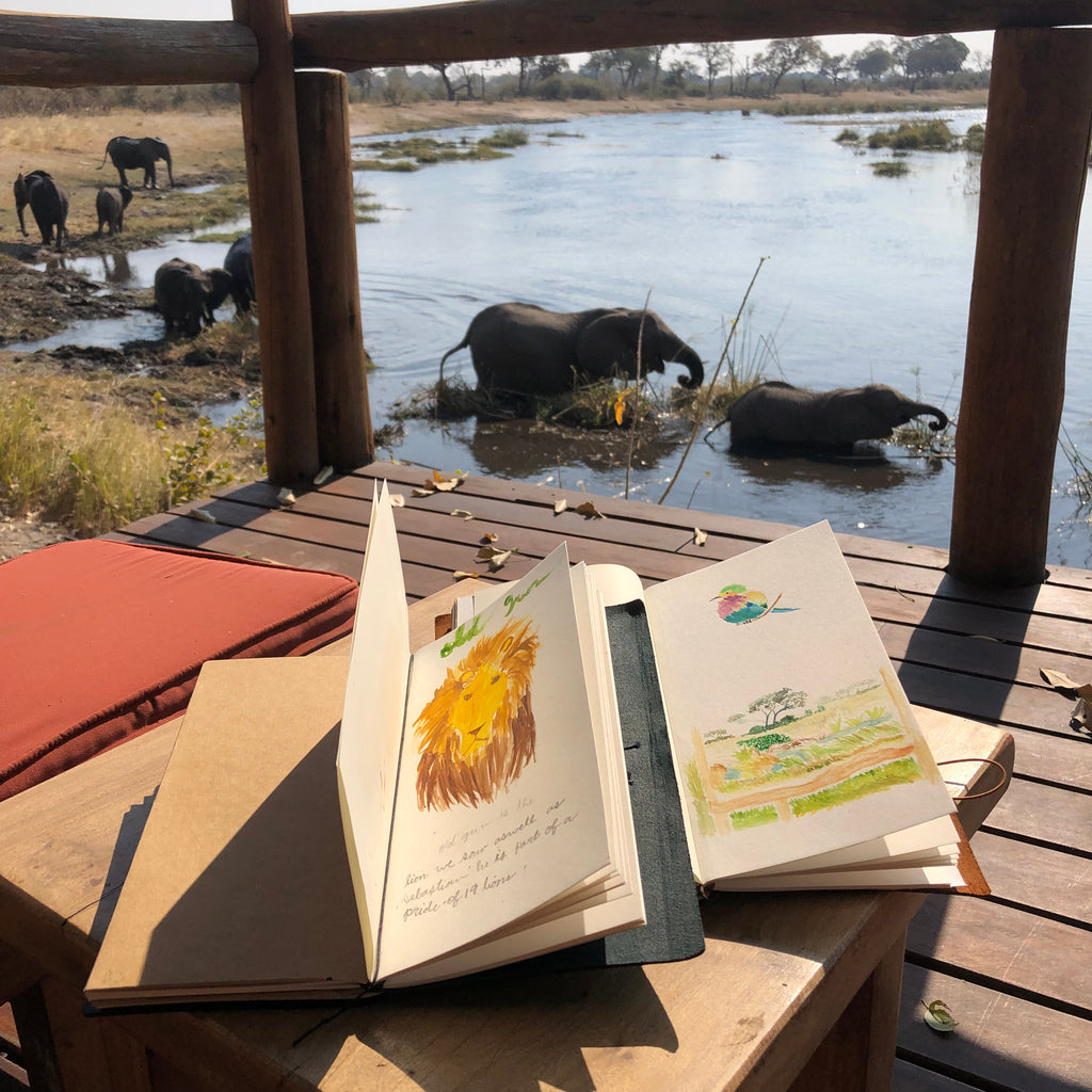 Belinda // Journaling through the Epic Family Adventure in Africa