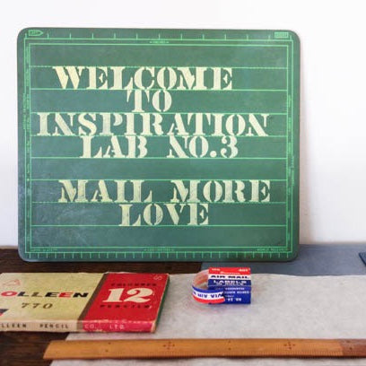 Reflecting on Inspiration Lab 003: Mail more love (2/7/16)