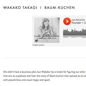Hello from Baum-kuchen! - interview by