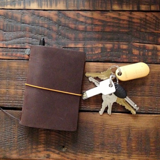 Vinh's Traveler's Notebook [24/7 back pocket notebook]