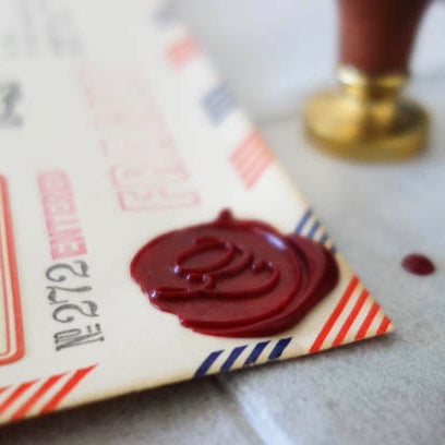 LOVE for Analogue / personal touch with wax seal
