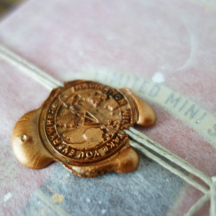 "Wax Seal ""imagination will take you everywhere"""