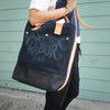 William Morris Shoulder Bag Deep Large // Blue