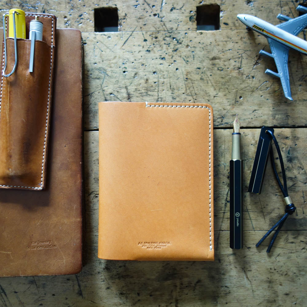 A.G. Spalding & Bros. // Leather Passport Cover