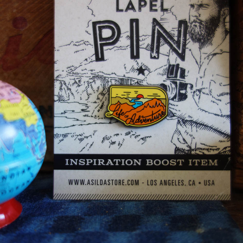 Asilda Pin / Life of Adventure