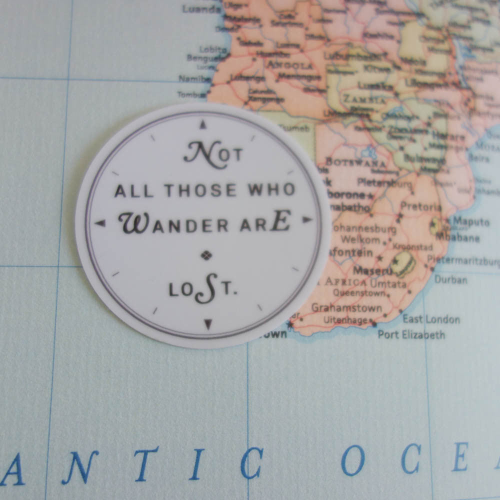 Stickers / Not All Those Who Wander are Lost