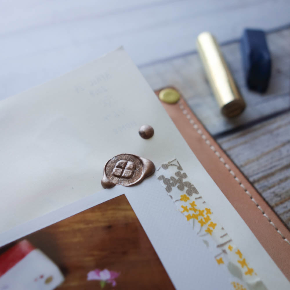 Wax Seal Stamp / BK Clover