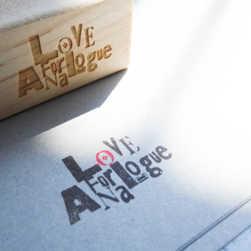 Love for Analogue Stamp