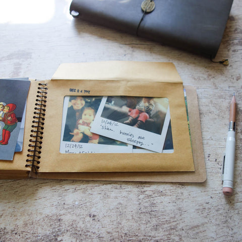 Kangaroo Spiral Notebook with Pockets