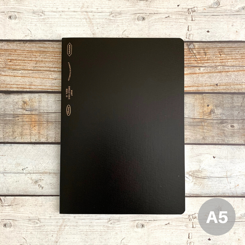 018 // 1/2 Year Notebook (A5 size)