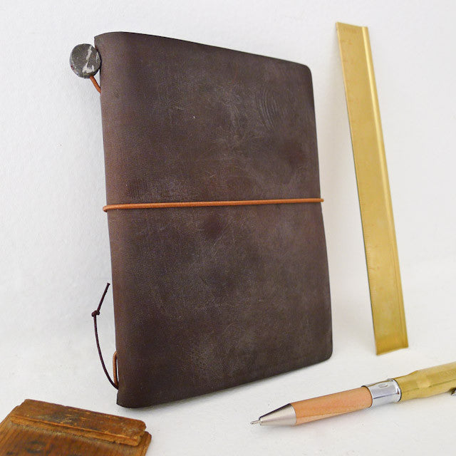 Traveler's Notebook / Brown [PASSPORT]