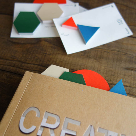 "Letterpress Card with ""Classiky"" logo"