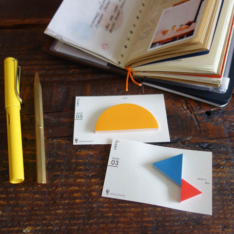 Geometric Sticky Note