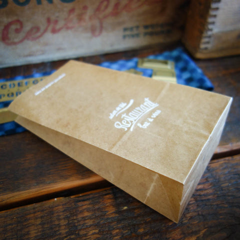 Classiky Wax Paper Bag / Restaurant