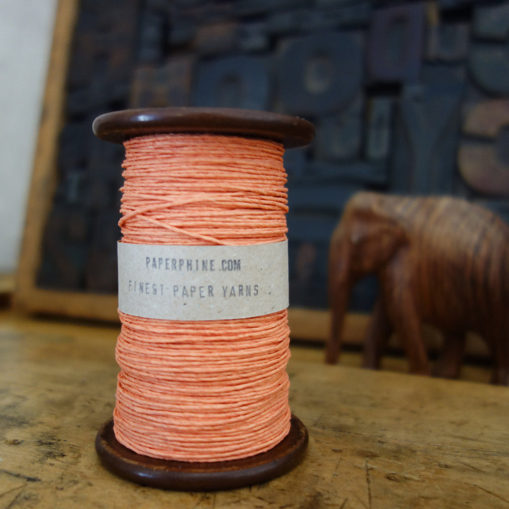 Paper Twine: Coral