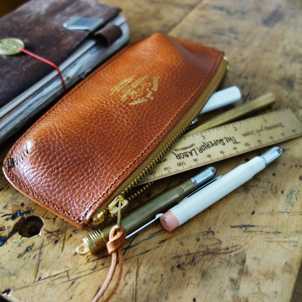 TSL Leather Pen Case