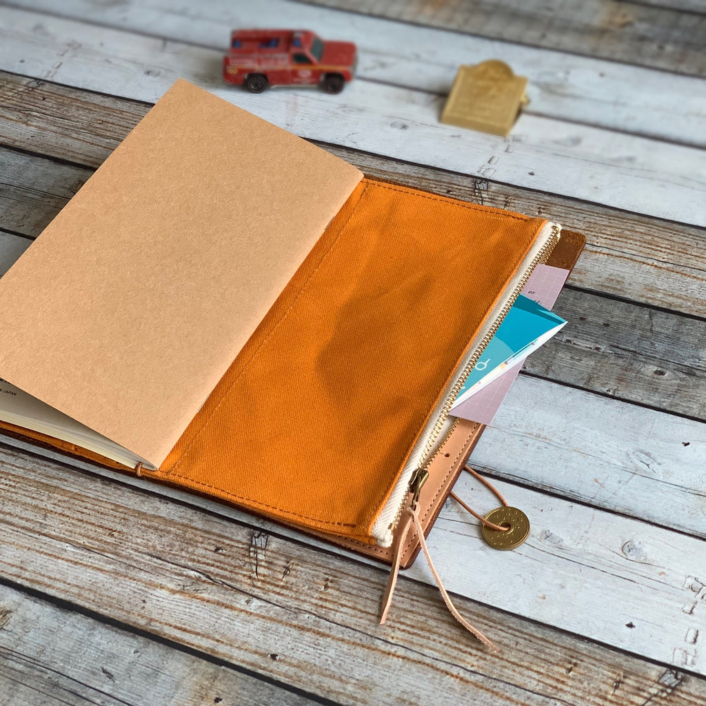 All Canvas Wallet // Orange Canvas