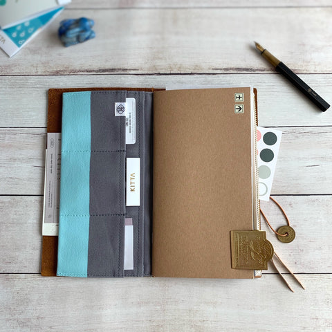 A6 Peacock Blue // Notebook Cover