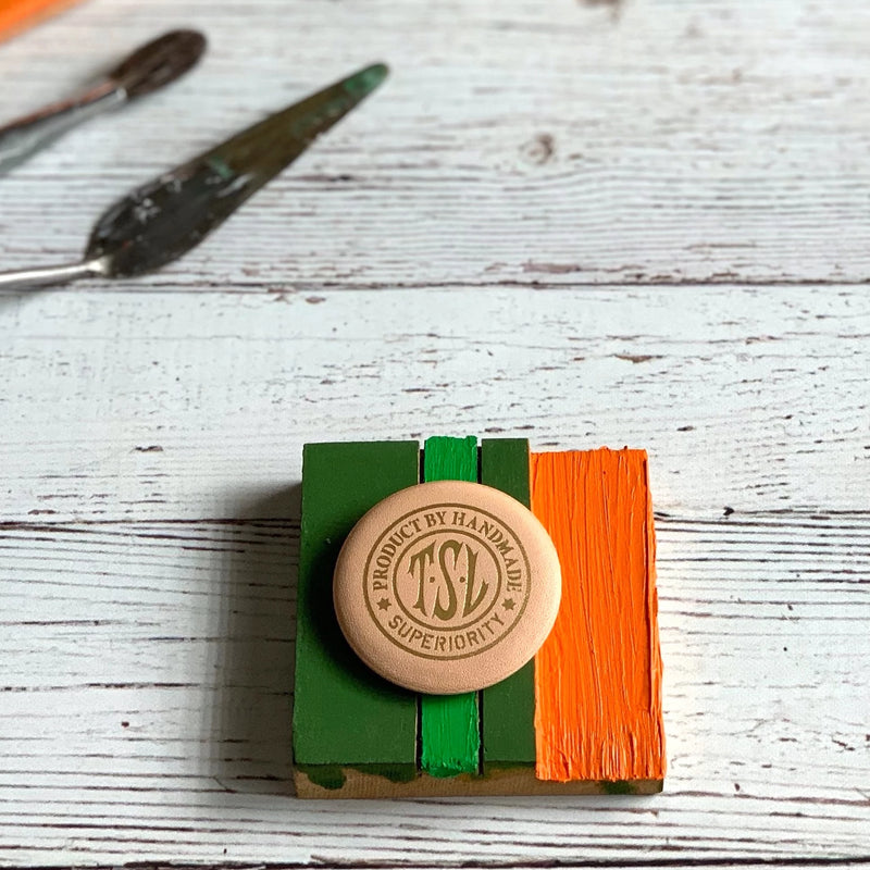TSL Leather Badge // Design A