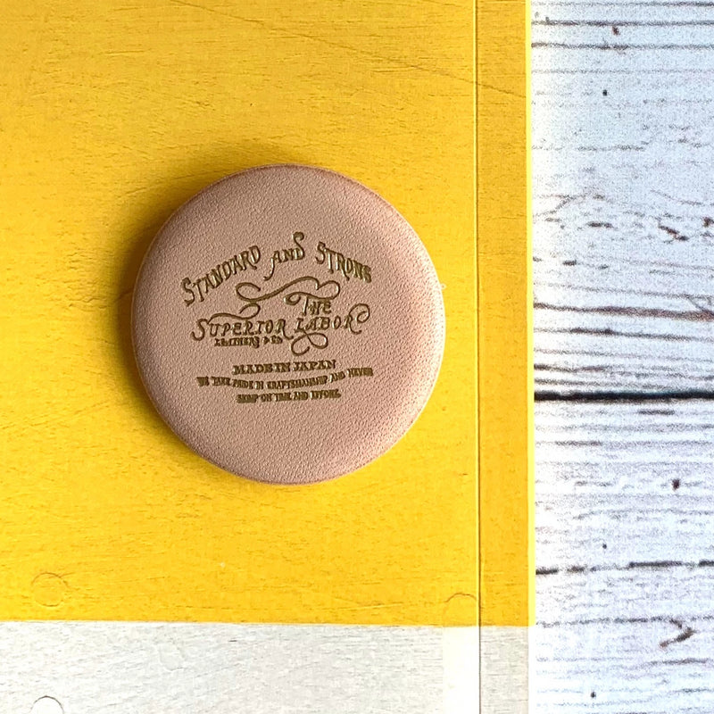 TSL Leather Badge // Design B