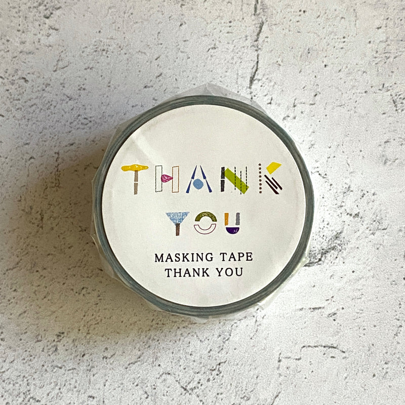 """Thank You"" / Masking Tape"