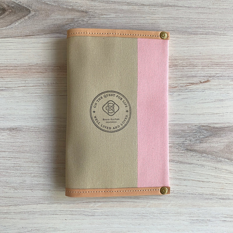 B6 Slim Jibun Cover // Rose Latte