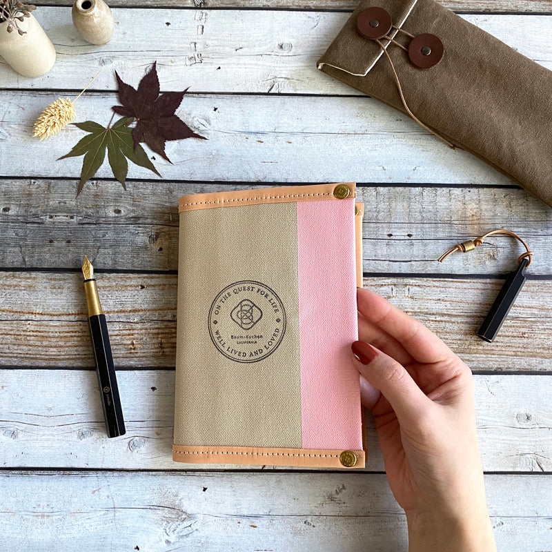 A6 Notebook Cover // Rose Latte
