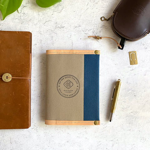 All Canvas Wallet // Earth