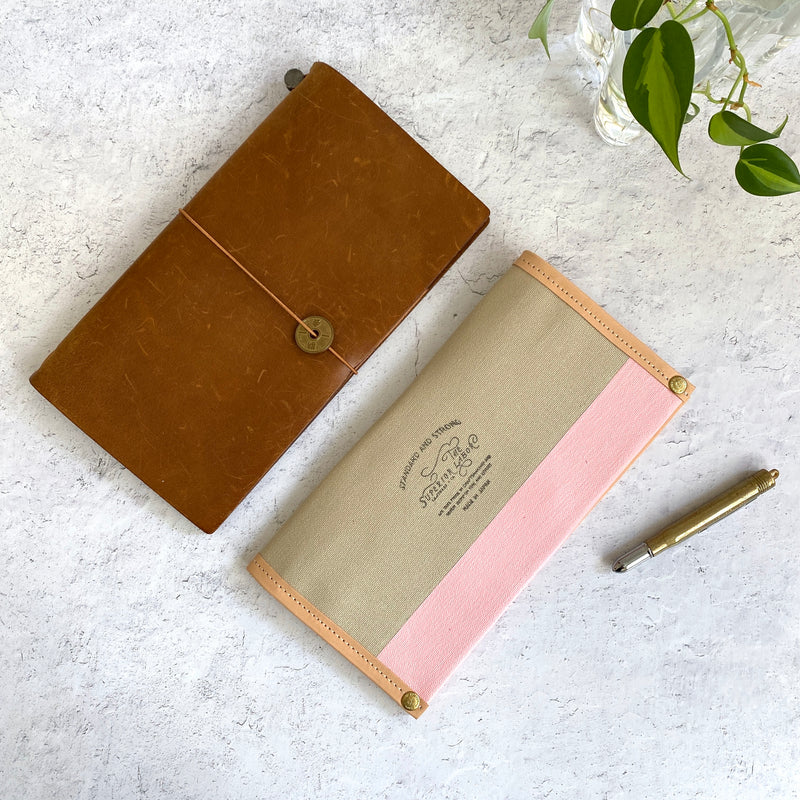 Travel for Life Wallet // Rose Latte