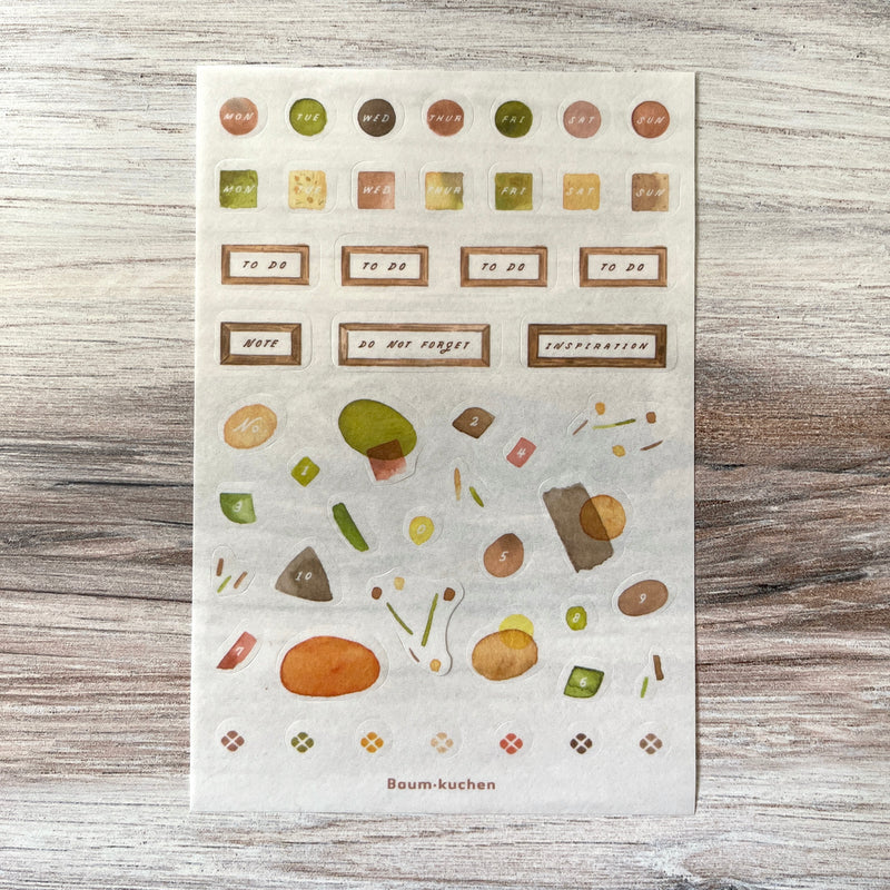 Planner Sticker // Analogue Cafe