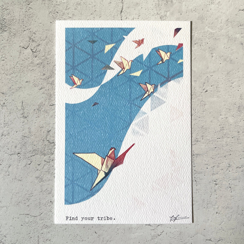 BK Postcard // Find Your Tribe
