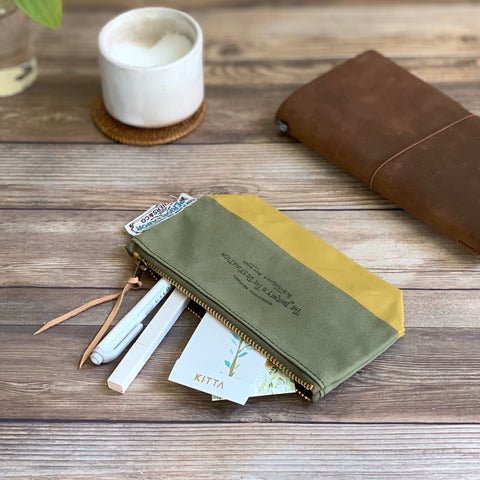 Travel for Life Wallet // Matcha [PRE-ORDER]