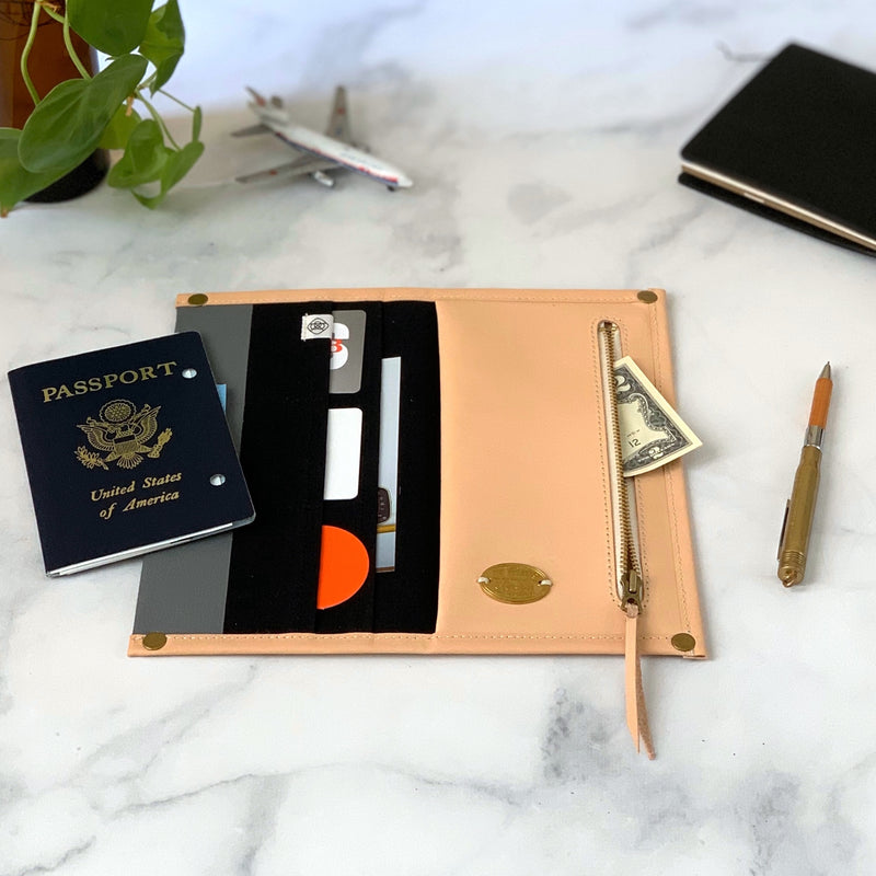 Travel for Life Wallet // Black Sesame