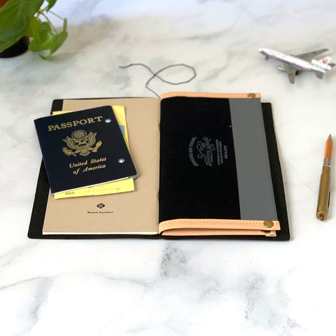 PASSPORT Travel for Life Wallet // All Leather
