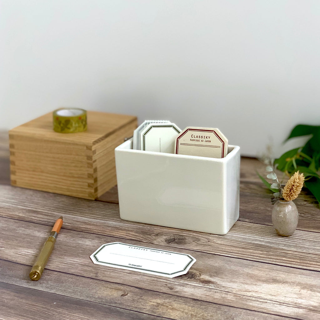 Porcelain Postcard Holder