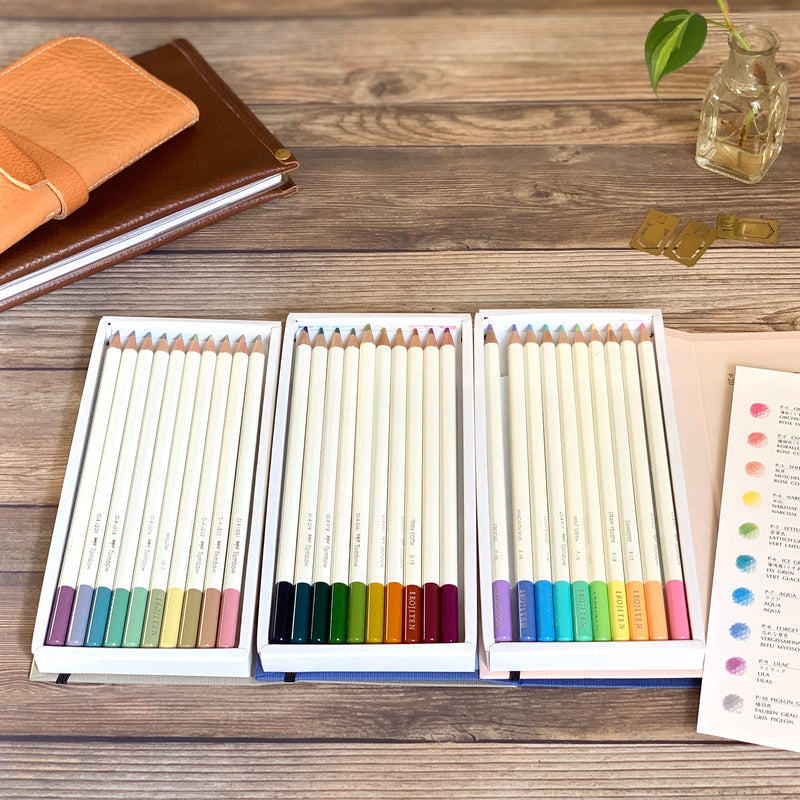 IROJITEN Color Pencils // Series 2 (Vol. 4-6)