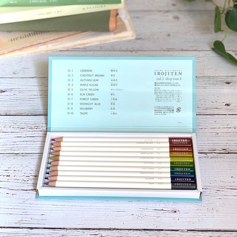 IROJITEN Color Pencils // Series 1 (Vol. 1-3)