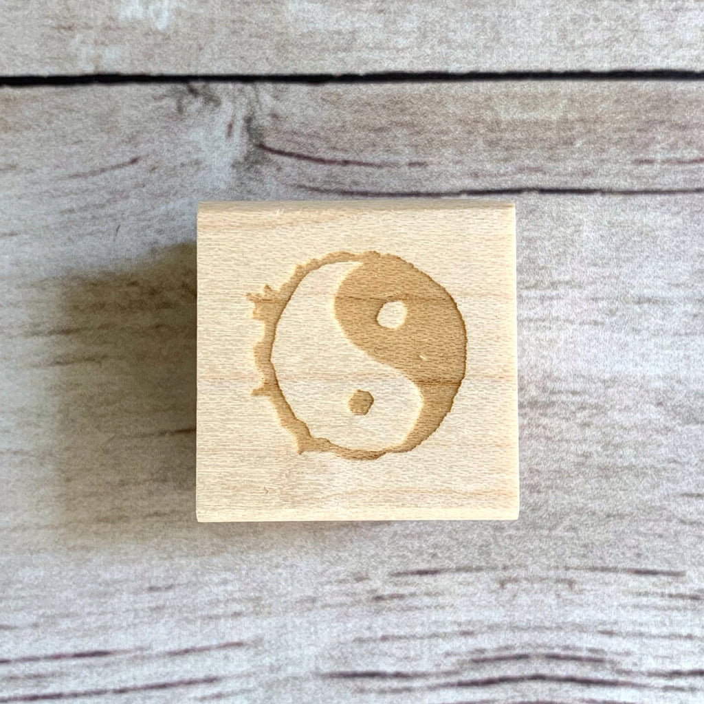 Ying and Yang Stamp
